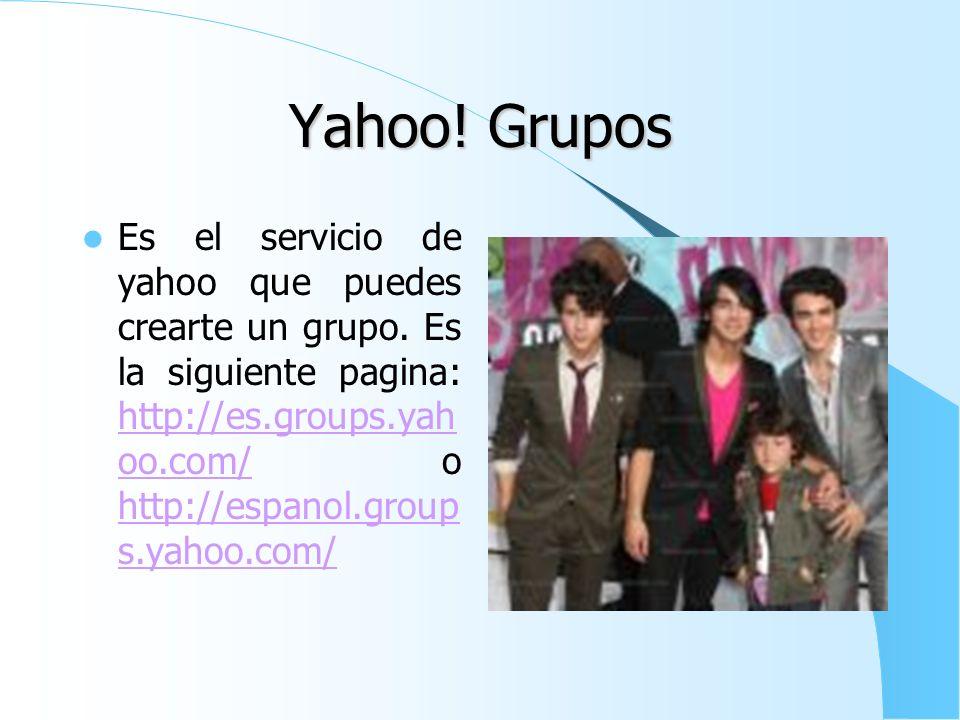 Yahoo! Grupos