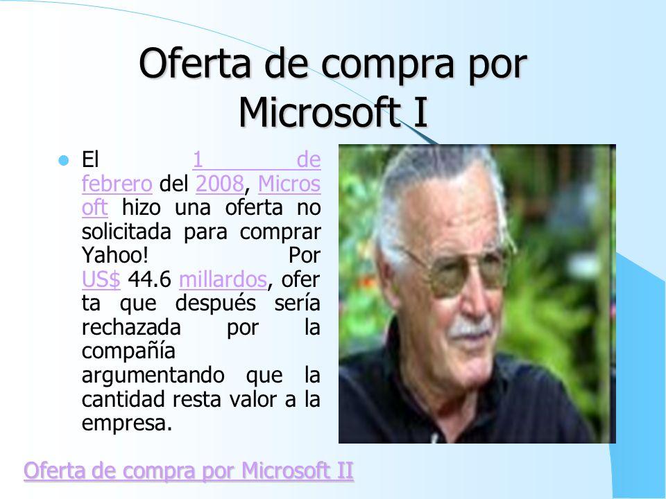 Oferta de compra por Microsoft I