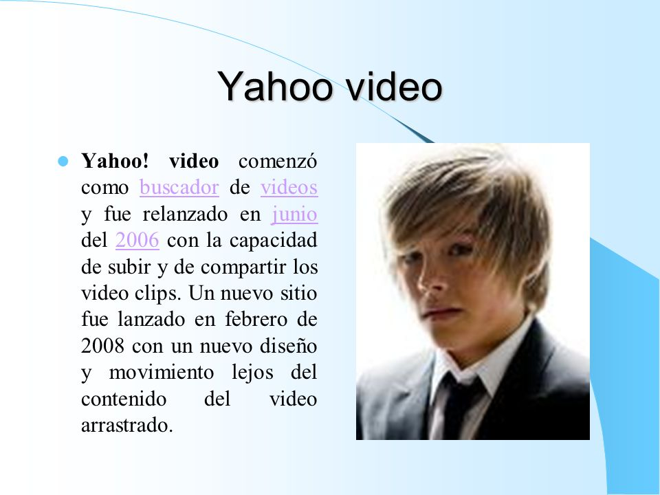 Yahoo video
