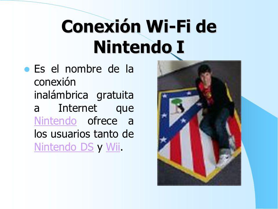 Conexión Wi-Fi de Nintendo I