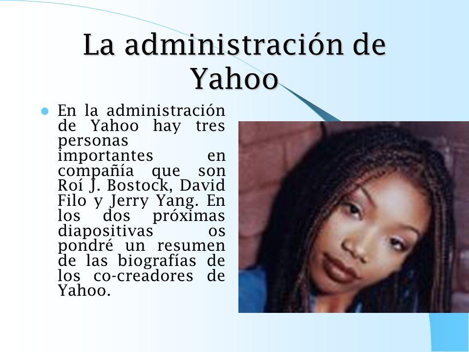 La administración de Yahoo