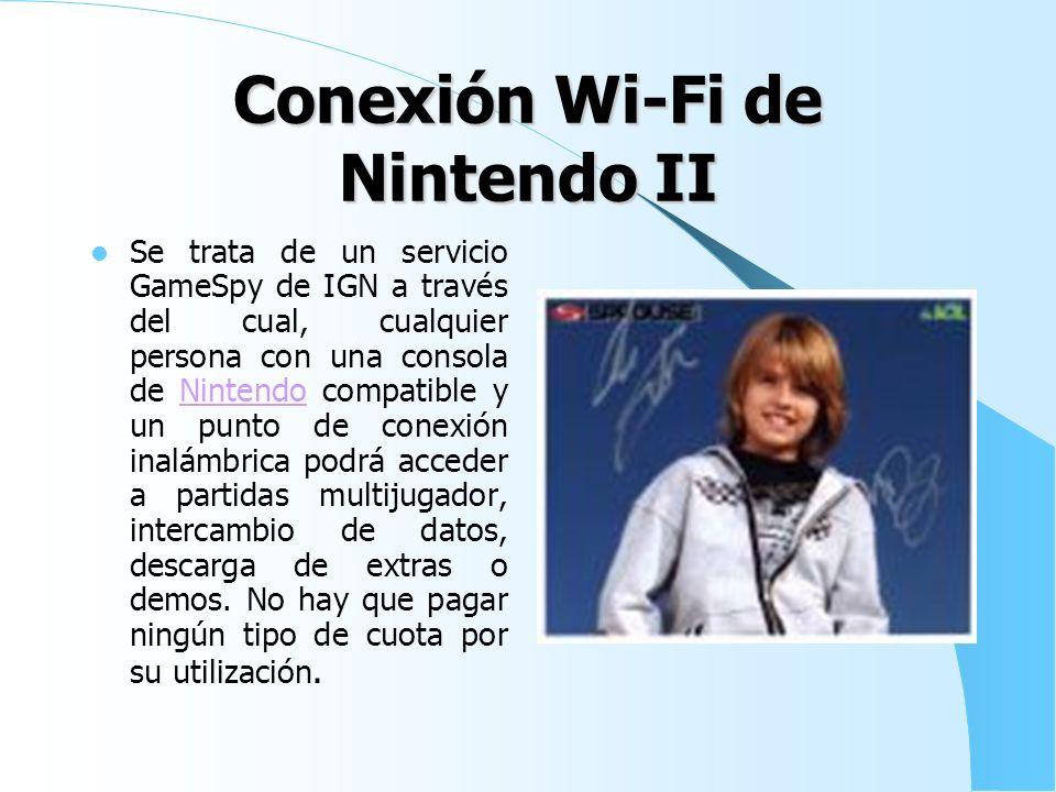 Conexión Wi-Fi de Nintendo II