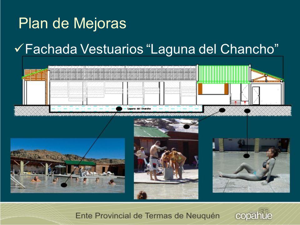 Plan de Mejoras Fachada Vestuarios Laguna del Chancho