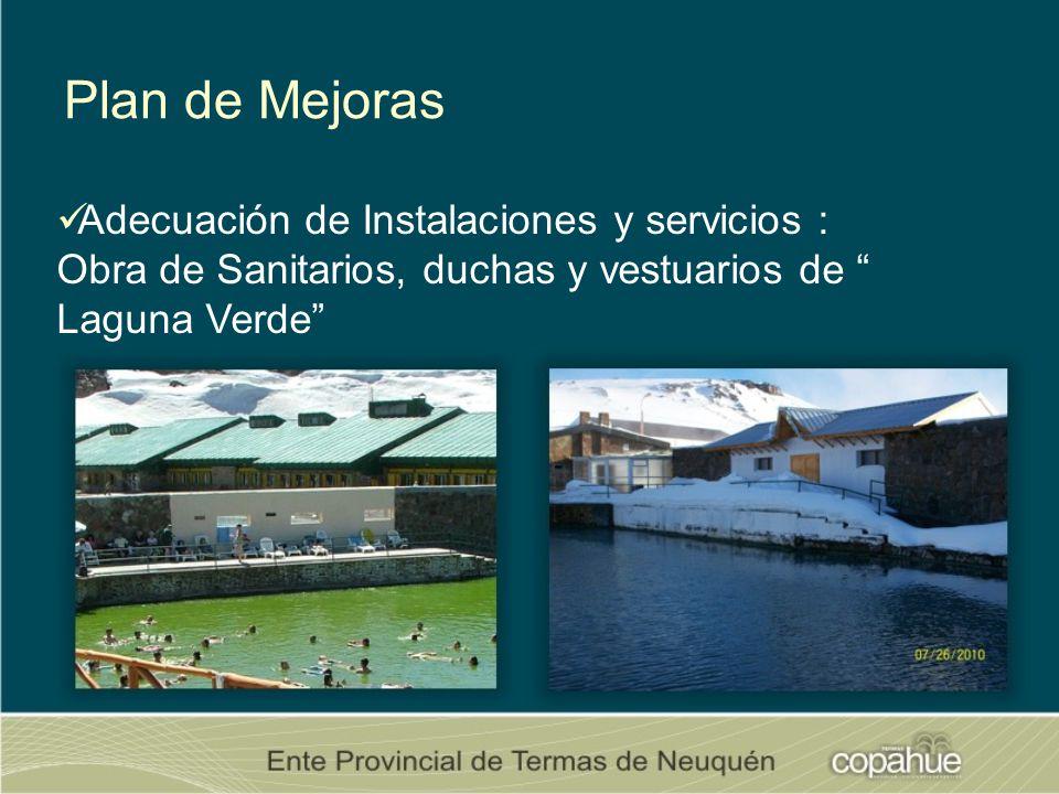 Plan de Mejoras Adecuación de Instalaciones y servicios :