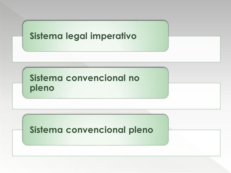 Sistema legal imperativo