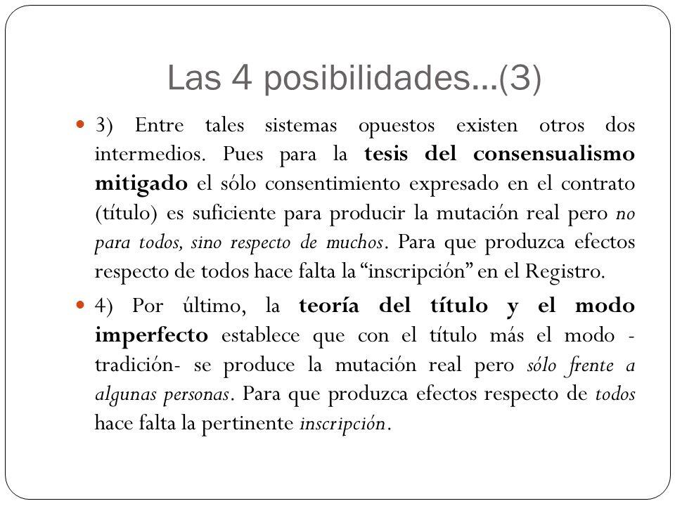 Las 4 posibilidades…(3)