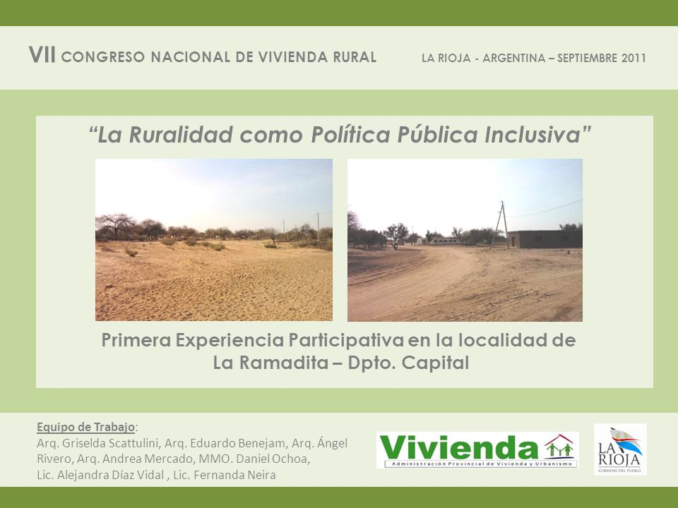 La Ruralidad como Política Pública Inclusiva