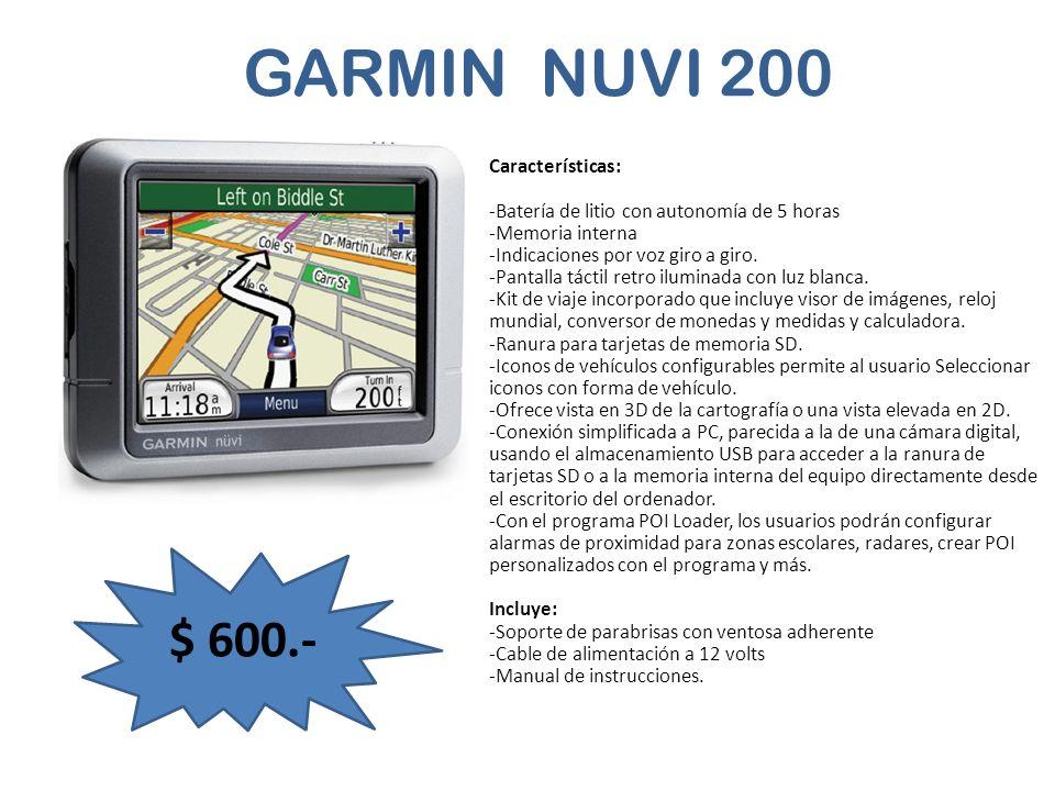 GARMIN NUVI 200