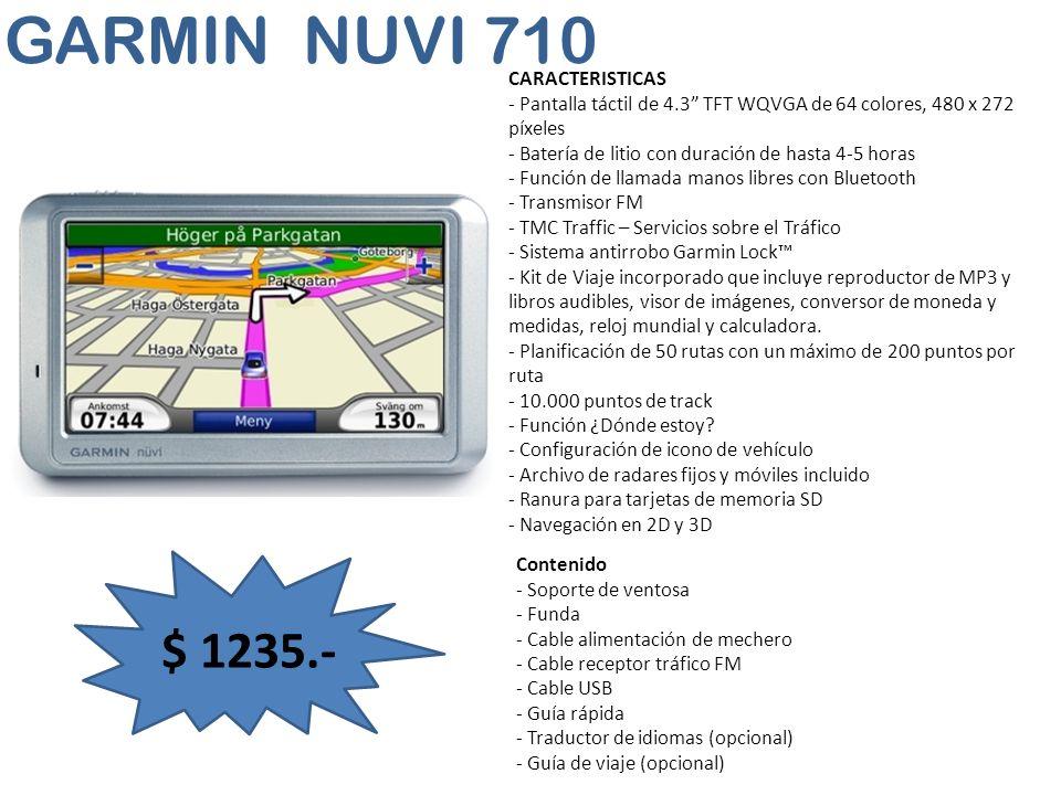 GARMIN NUVI 710