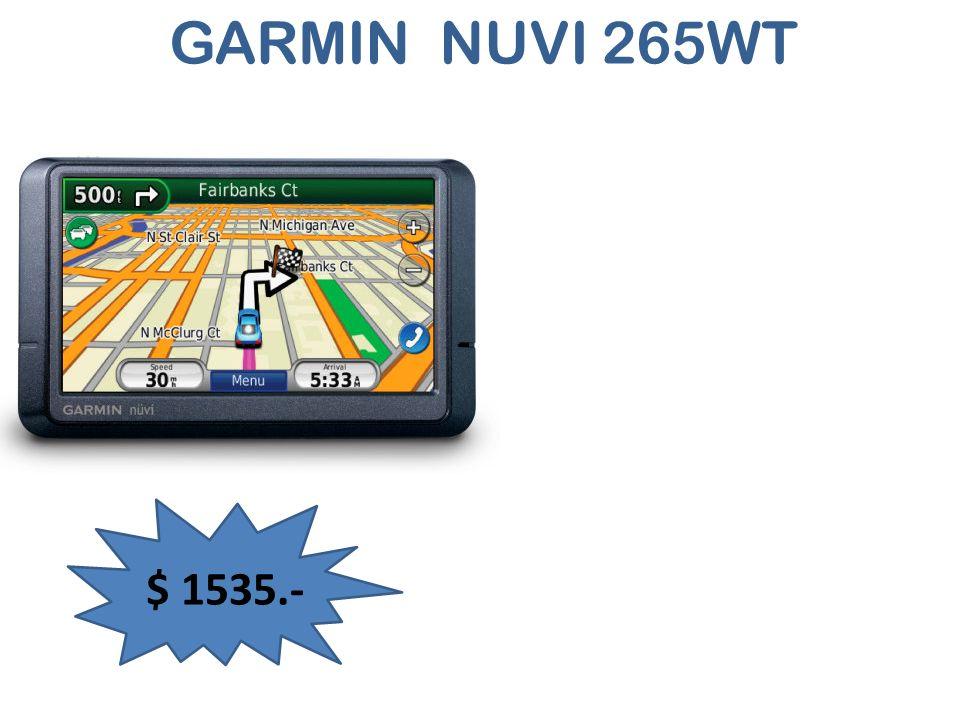 GARMIN NUVI 265WT $ 1535.-