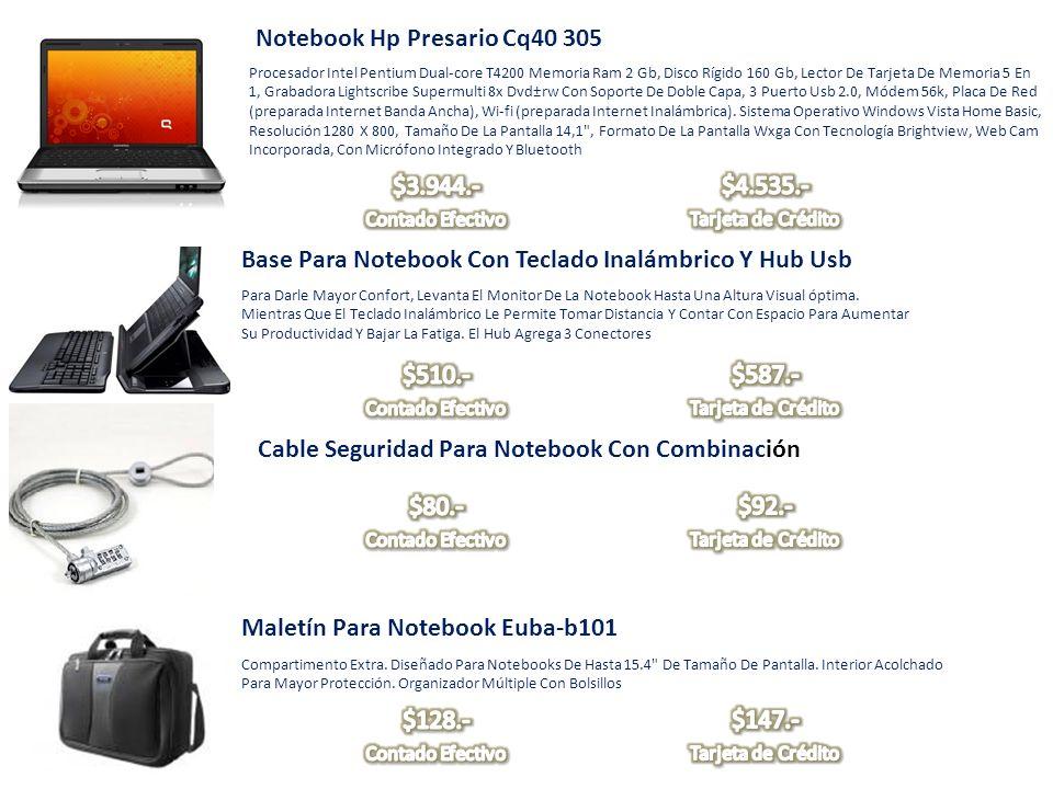 Notebook Hp Presario Cq40 305