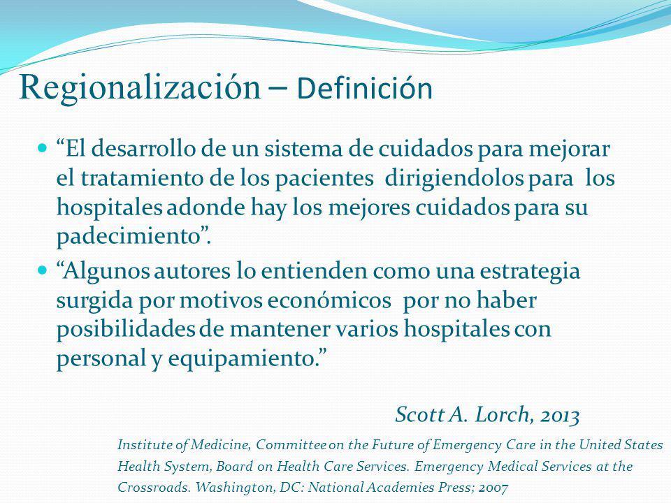 Regionalización – Definición