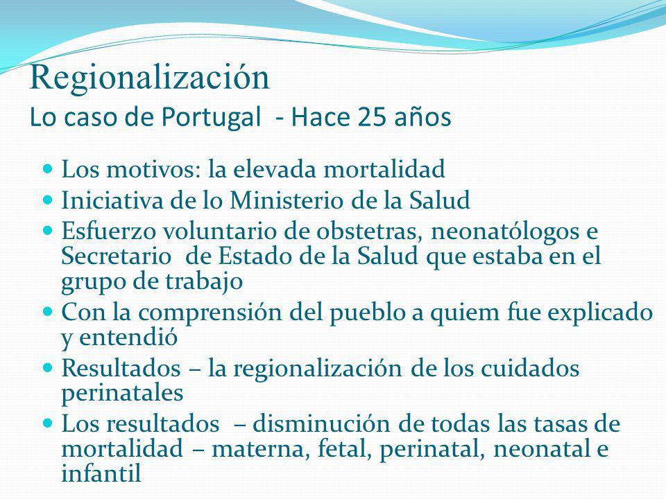 Regionalización Lo caso de Portugal - Hace 25 años