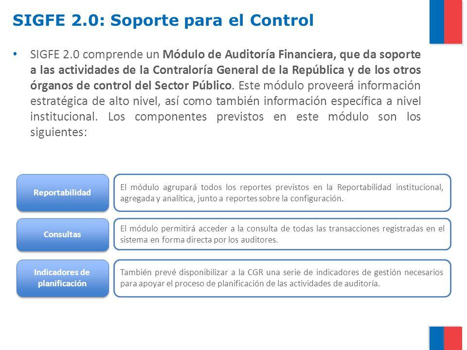 SIGFE 2.0: Soporte para el Control