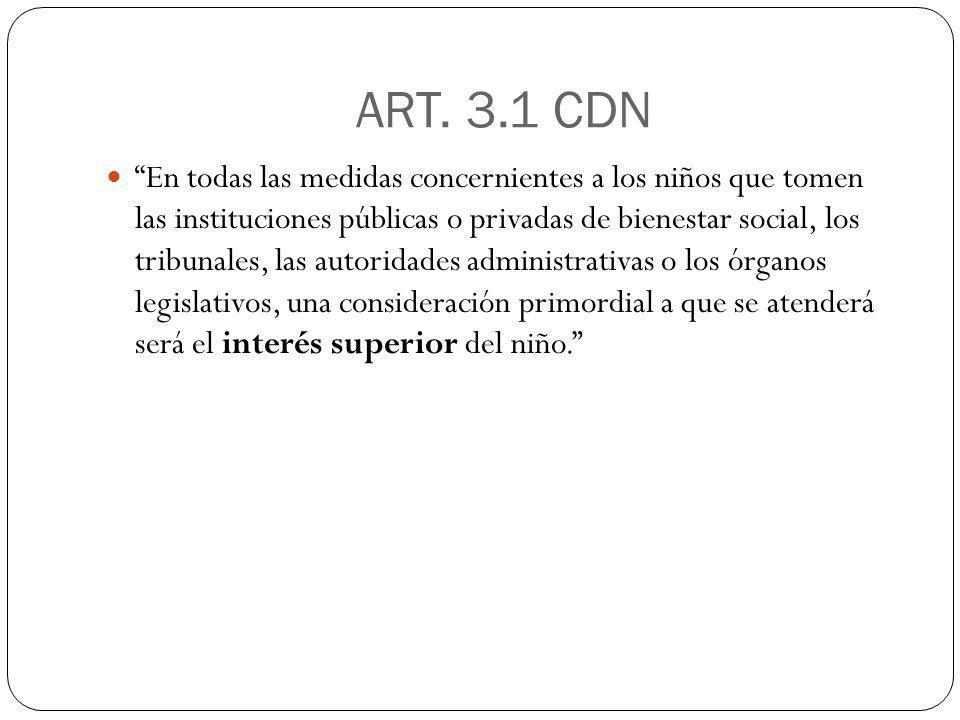 ART. 3.1 CDN