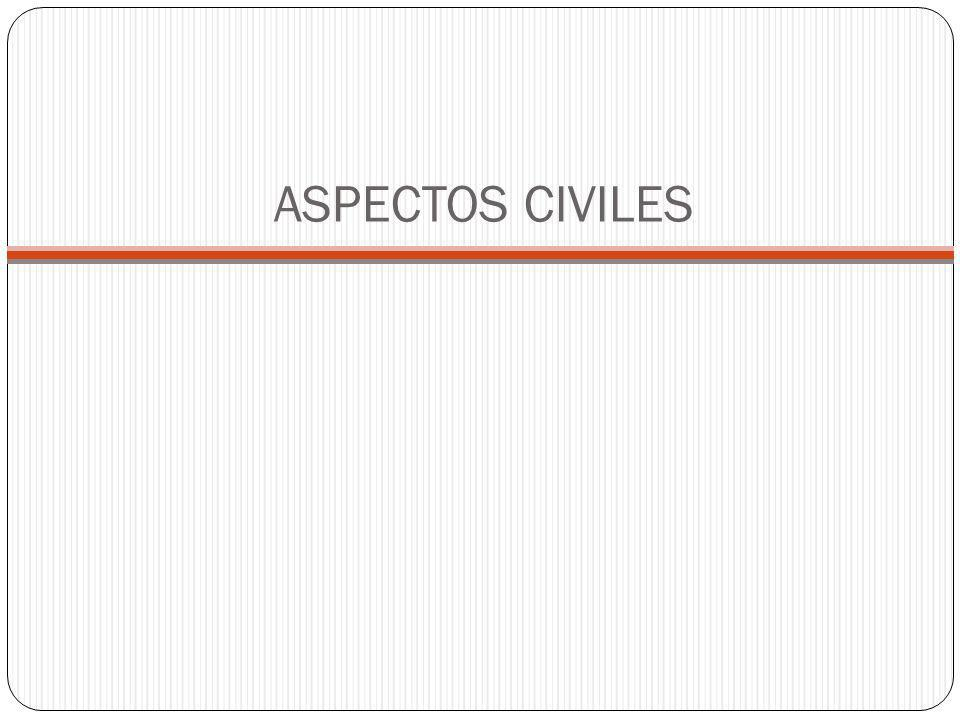 ASPECTOS CIVILES