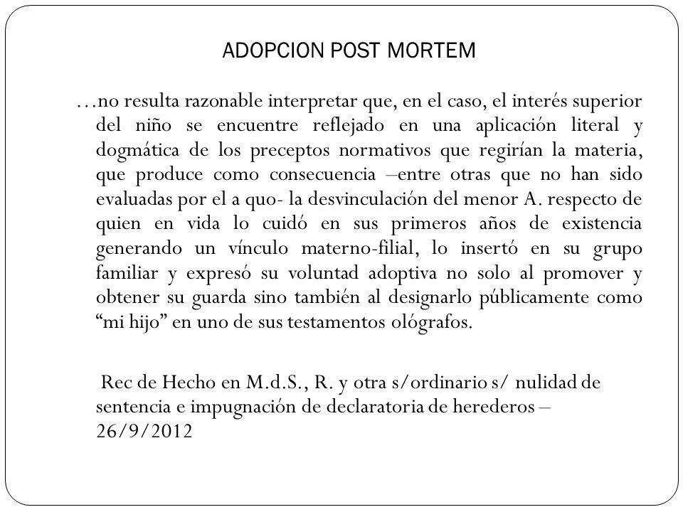 ADOPCION POST MORTEM