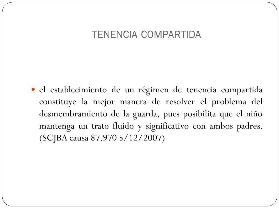 TENENCIA COMPARTIDA