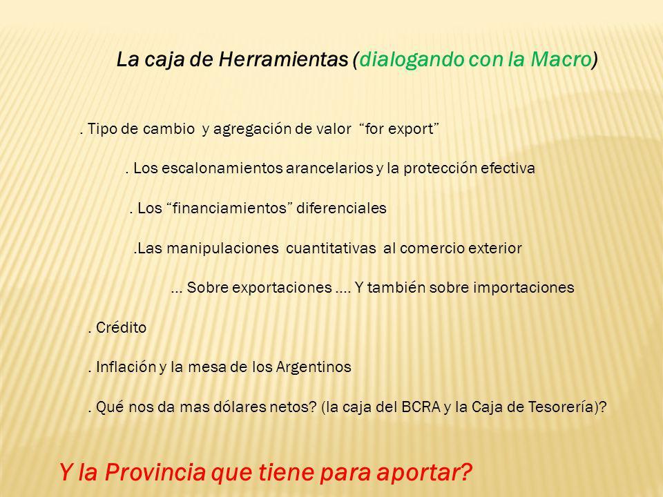 La caja de Herramientas (dialogando con la Macro)