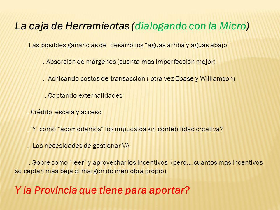 La caja de Herramientas (dialogando con la Micro)