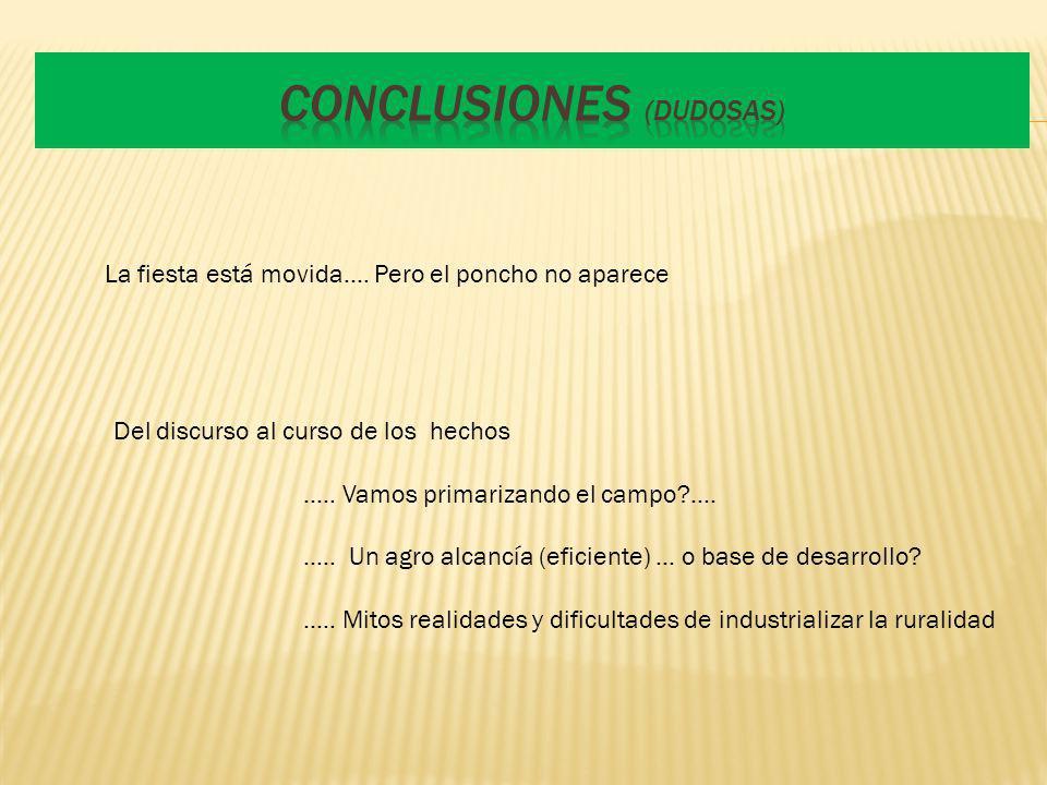 Conclusiones (dudosas)