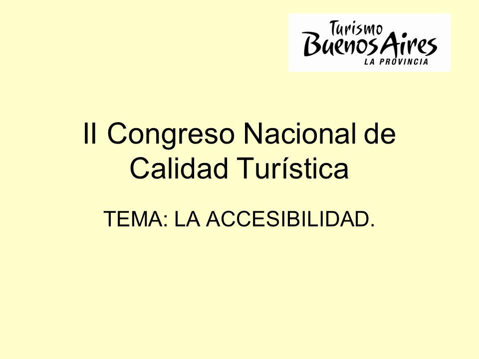 II Congreso Nacional de Calidad Turística