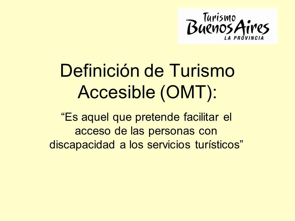 Definición de Turismo Accesible (OMT):