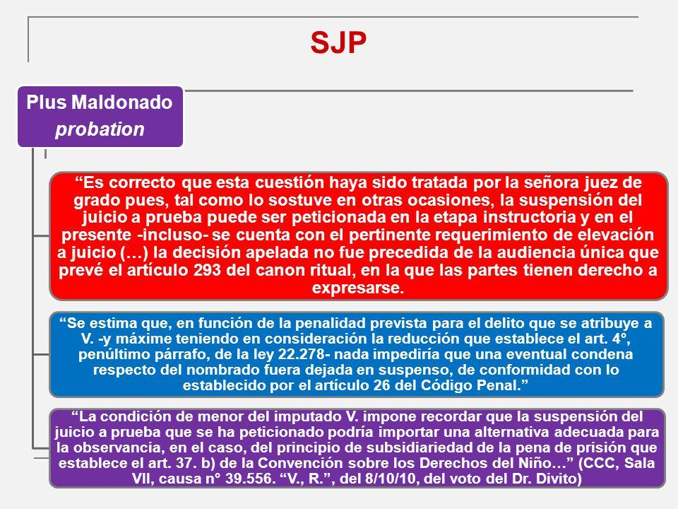 SJP Plus Maldonado probation