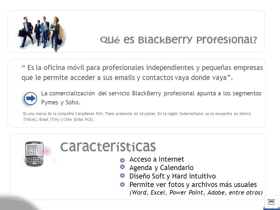 Qué es BlackBerry Profesional