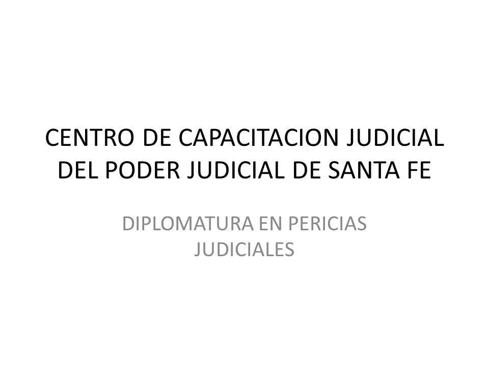 CENTRO DE CAPACITACION JUDICIAL DEL PODER JUDICIAL DE SANTA FE
