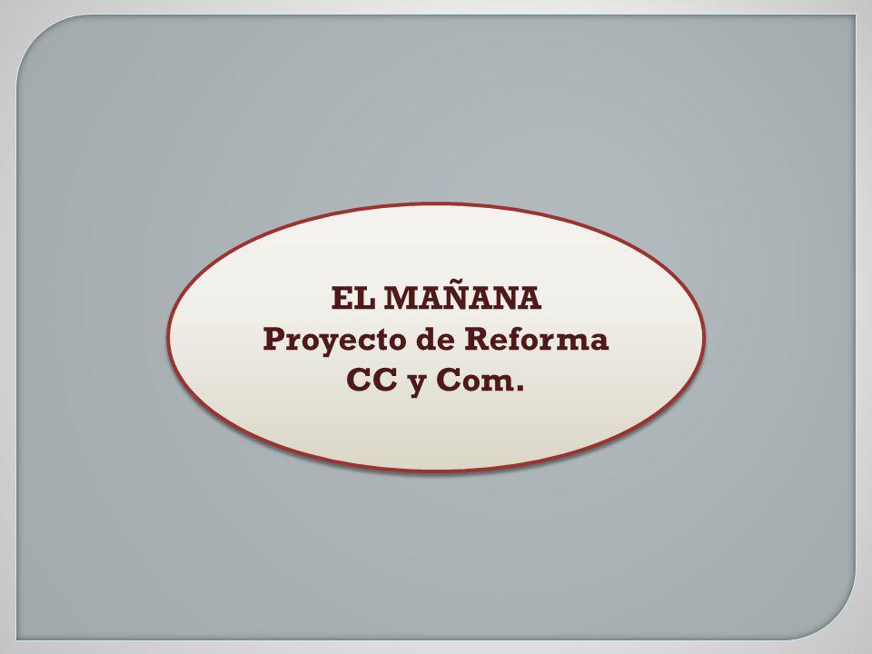 Proyecto de Reforma CC y Com.