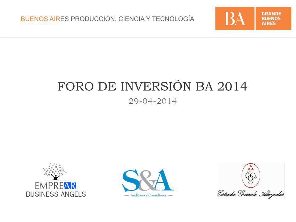 FORO DE INVERSIÓN BA 2014 29-04-2014