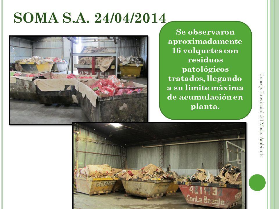 SOMA S.A. 24/04/2014