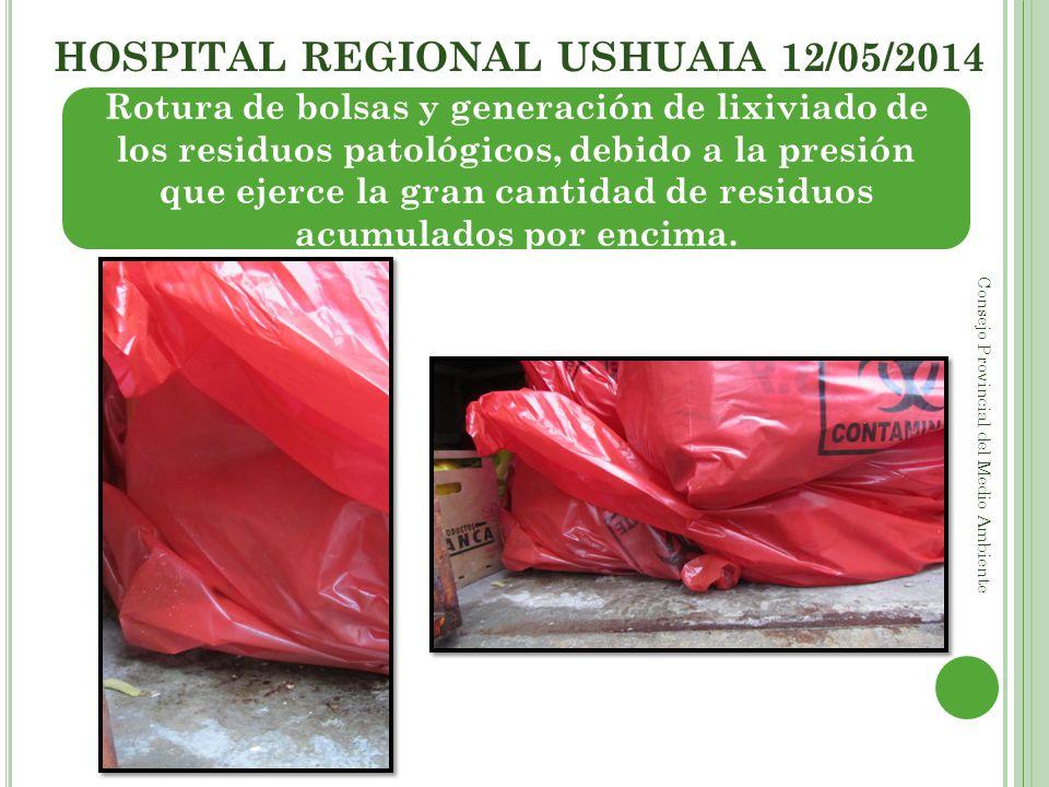 HOSPITAL REGIONAL USHUAIA 12/05/2014