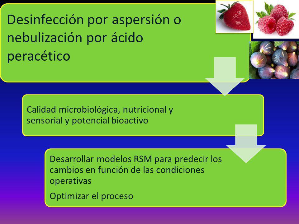 Desinfección por aspersión o nebulización por ácido peracético
