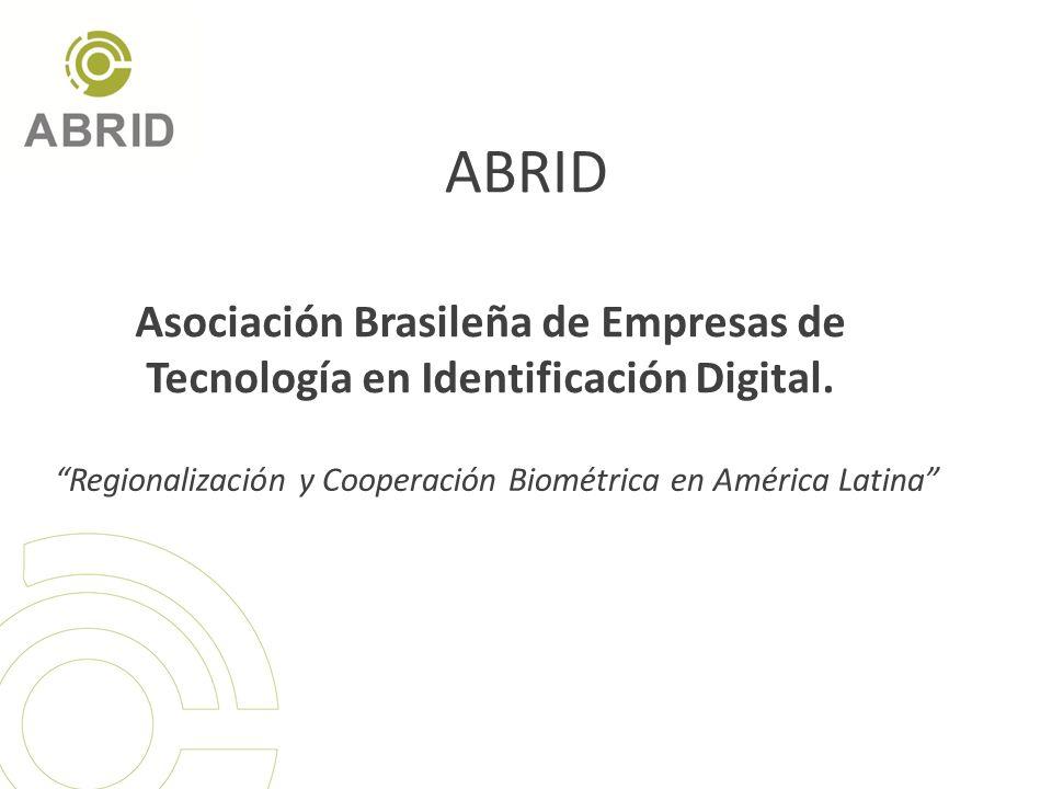 Regionalización y Cooperación Biométrica en América Latina