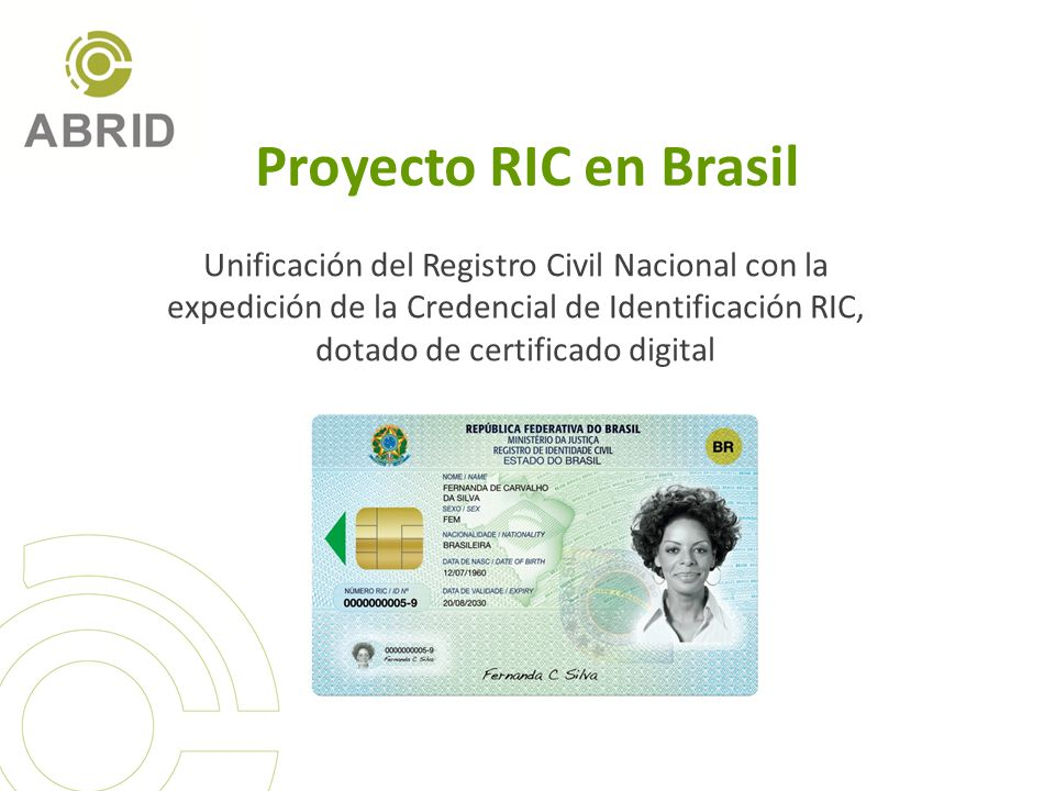 Proyecto RIC en Brasil