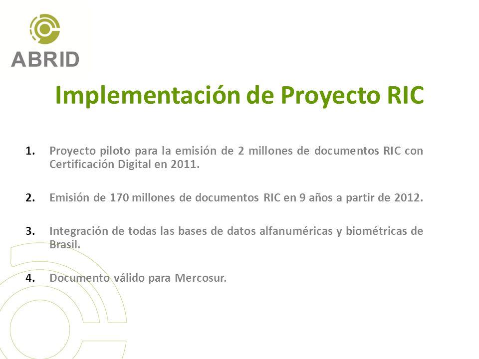 Implementación de Proyecto RIC