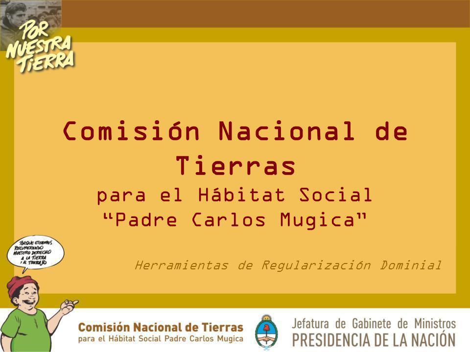 Herramientas de Regularización Dominial
