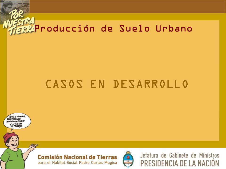 Producción de Suelo Urbano