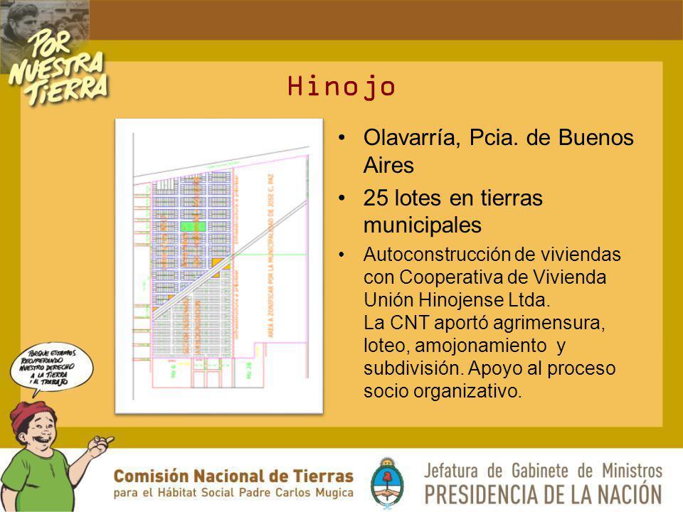 Hinojo Olavarría, Pcia. de Buenos Aires