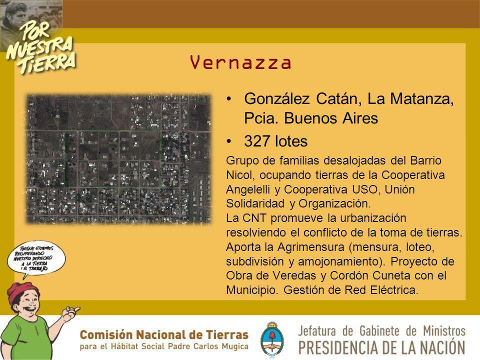 Vernazza González Catán, La Matanza, Pcia. Buenos Aires 327 lotes