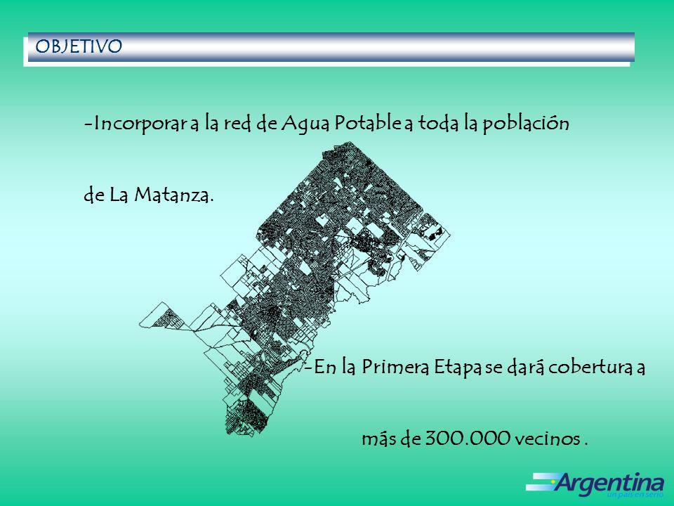 En la Primera Etapa se dará cobertura a más de 300.000 vecinos .