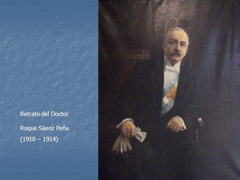 Retrato del Doctor Roque Sáenz Peña