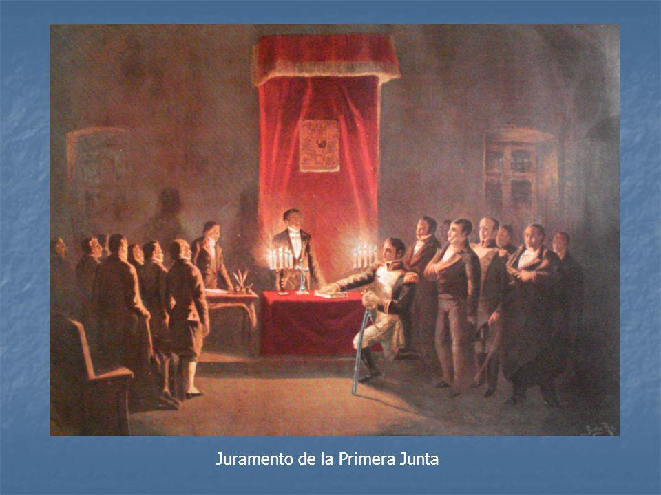 Juramento de la Primera Junta