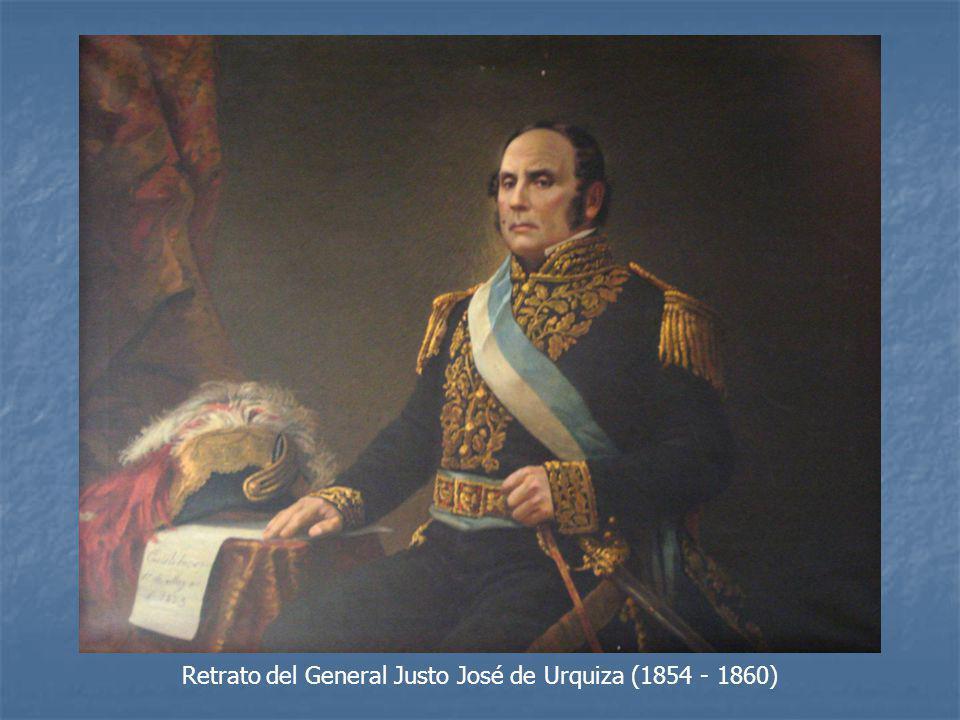 Retrato del General Justo José de Urquiza (1854 - 1860)