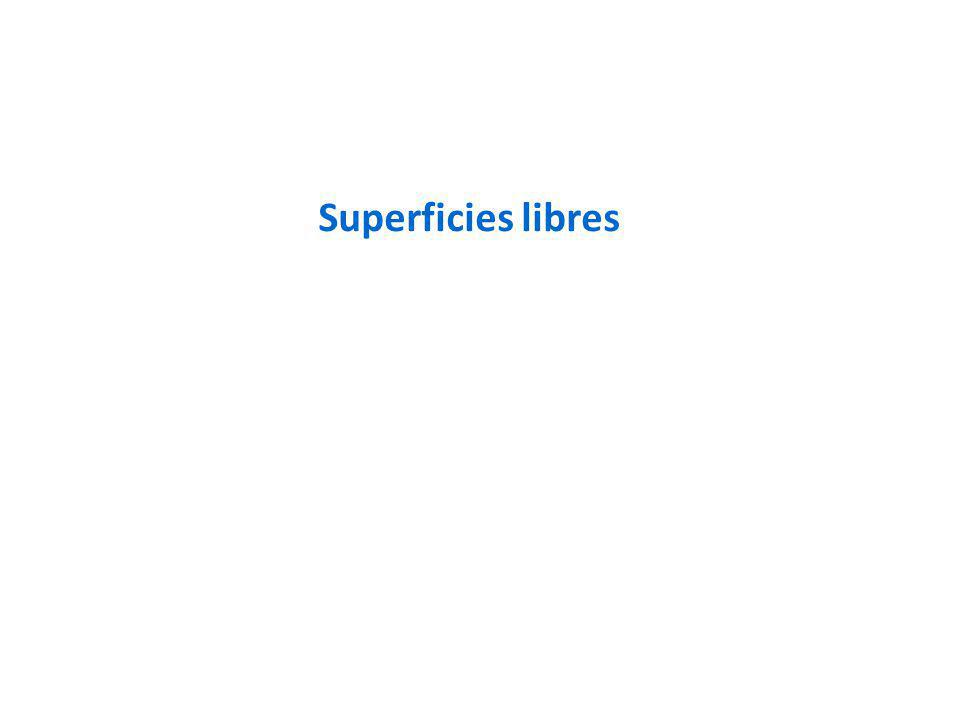 Superficies libres