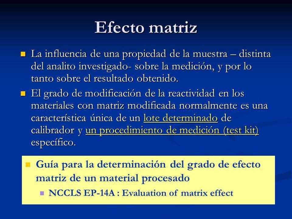Efecto matriz