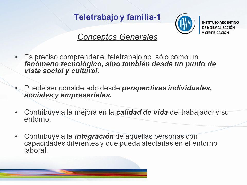 Teletrabajo y familia-1 Conceptos Generales