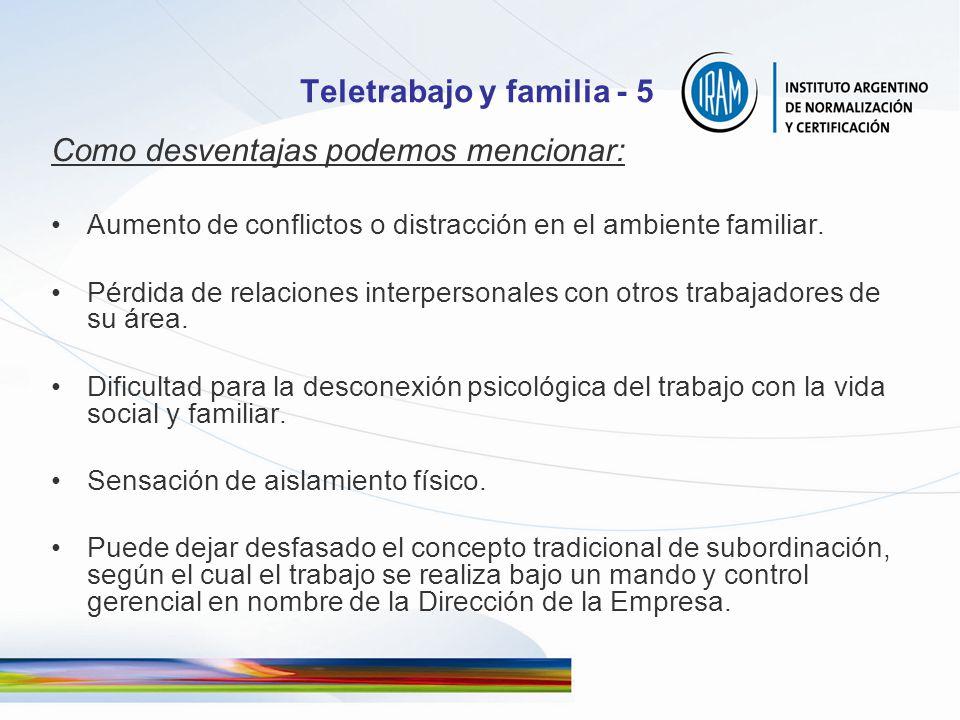 Teletrabajo y familia - 5
